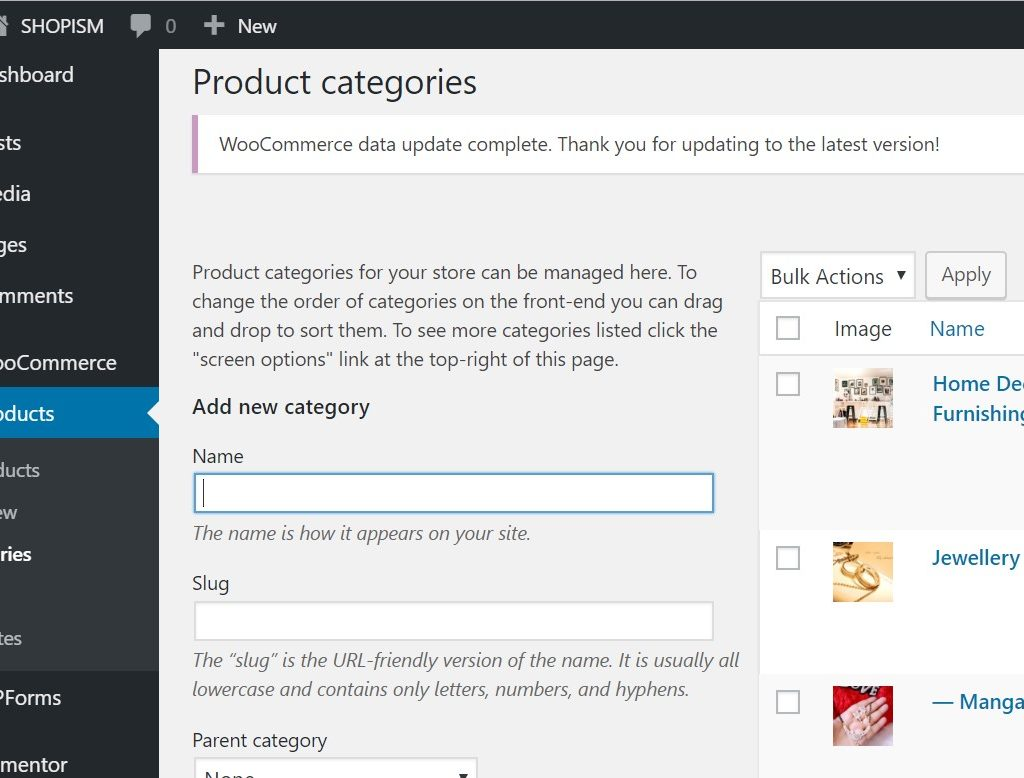 products in wordpress2