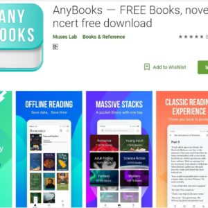 Any Books- Free Books, Novels, NCERT Free Download – Learning App