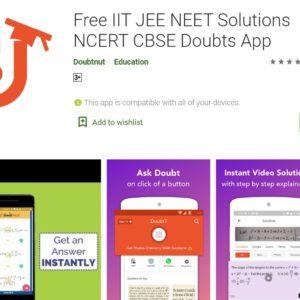 Doubtnut: Free IIT JEE NEET Solutions NCERT CBSE Doubts App
