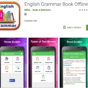 English Grammar Book Offline- Learning App