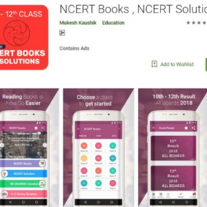 NCERT Books, NCERT Solutions- Learning App